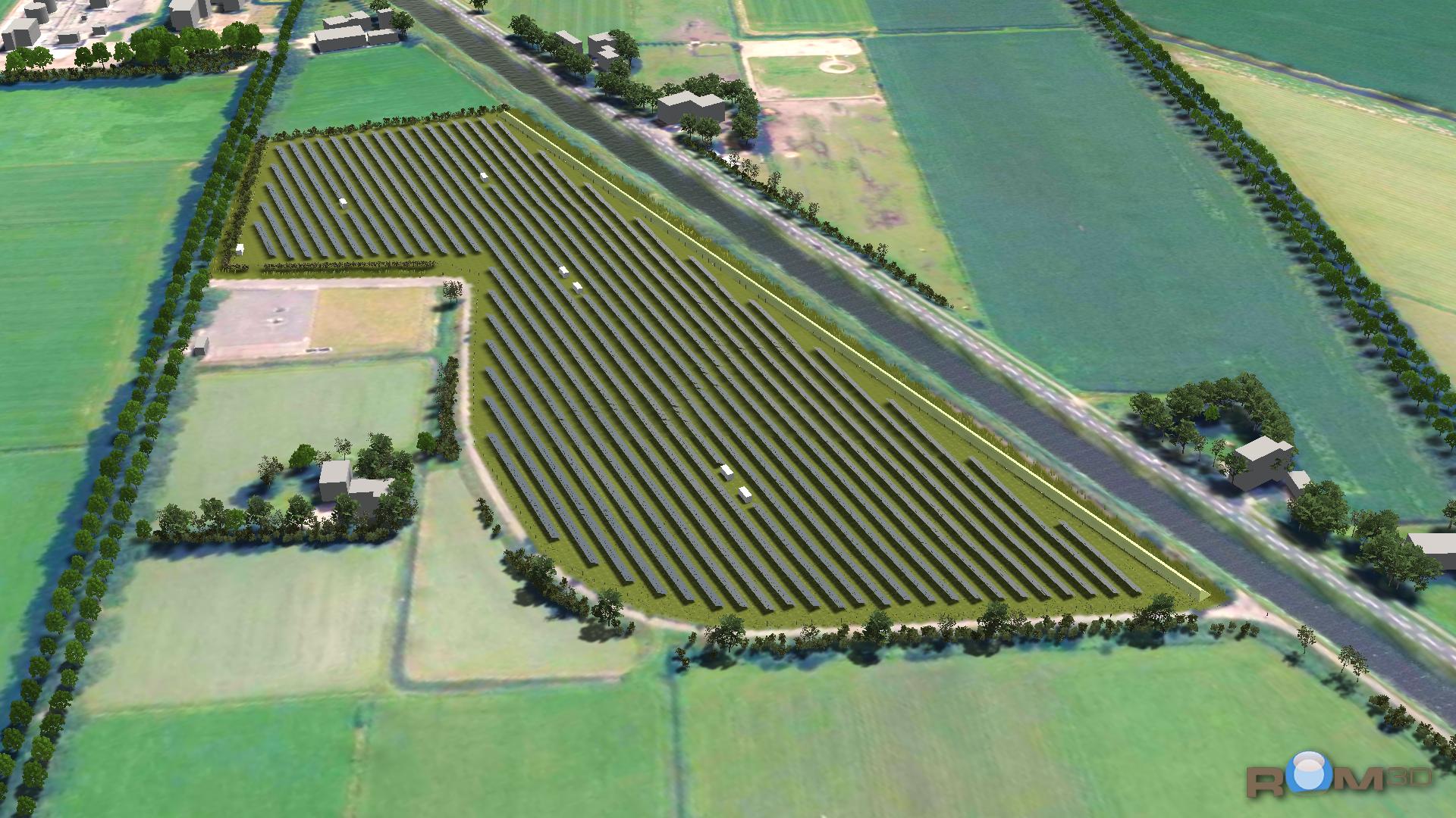 zonnepark coevorden powerfield nuon